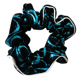 the zone vibe gymnastics hair scrunchie