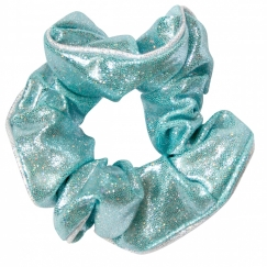 the zone glitz gymnastics hair scrunchie