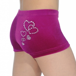 the zone valentine jewel hipster shorties
