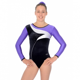 the zone cosmic velour and metallic leotard