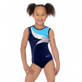 the zone cosmic sleeveless leotard