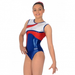 the zone merit sleeveless gymnastics leotard
