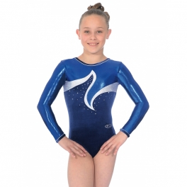 the zone viva long sleeve gymnastics leotard