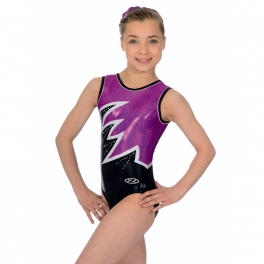 the zone fantasia sleeveless gym leotard
