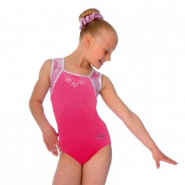 Gymnastics Leotards - the zone leotard - angel square neck sleeveless leotard