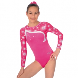 the zone leotards - zodiac design long sleeve gymnastics leotard