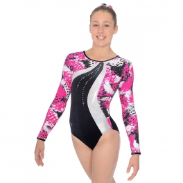 the zone carnival long sleeve leotard