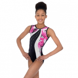 the zone carnival sleeveless gymnastics leotard