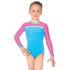 the zone charmed long sleeve gymnastics leotard