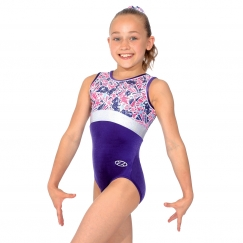 the zone halley round neck sleeveless gymnastics letoard