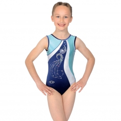 the zone glitz sleeveless hologram sequin gymnastics leotard