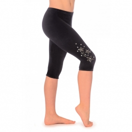 the zone dazzle jeweled velour leggings