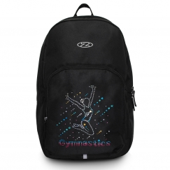 the zone gymnastics back pack with hologram motif