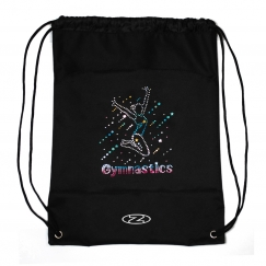 the zone gymnastics nylon drawsting bag