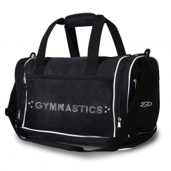 the zone gymnastics holdall bag with metallic jewel motif