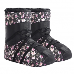 so danca waterproof boxer style warm up booties