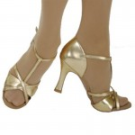 Ballroom & Latin Shoes: 3 - 3.5 Inch Heel