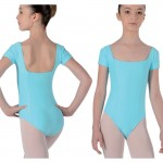 Leotards: Short Sleeved
