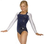 Square Neck Gymnastics Leotards